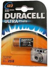 Piles jetables Duracell pour équipement audio et vidéo CR123A