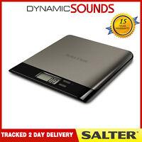 Salter 5kg Stainless Steel Pro Electronic Digital Kitchen Scales 1052 SSBKDR NEW