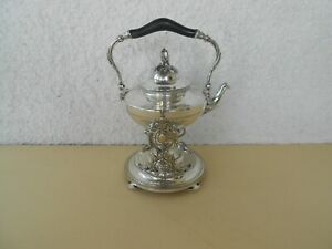 CHRISTOFLE FRENCH SILVERPLATE SAMOVAR & FOUNTAIN & HOT WATER  ART NOUVEAU