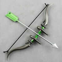 Alloy 1/6 Bow&Arrow Set Weapon Model Fit 12in. Action Figure Model Toy