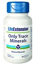2 PACK $10.65 Life Extension Only Trace Minerals zinc chromium copper boron