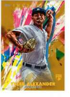 Tyler Alexander 2020 Topps Inception 5x7 Gold #88 /10 Tigers