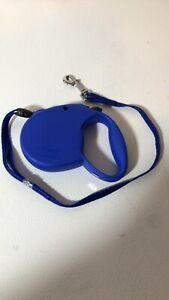 Flexi Standard 1 Retractable Small Dog Leash 16 Ft Blue