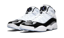 AIR JORDAN 6 RINGS CONCORD White/ Black 100% AUTHENTIC 322992-104 DS USA