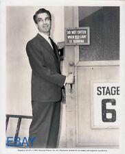 Charles Korvin cleancut hunk candid 1945 VINTAGE Photo