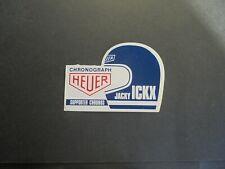 Sticker autocollant : Jacky Ickx - Chronograph Heuer