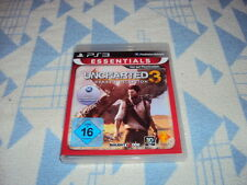 UNCHARTED 3: Drake 's Deception -- Essentials (Sony Playstation 3, 2013, DVD-BOX)