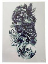 3D Body Art Temporary Tattoo EXTRA LARGE Sheet 21x15cm