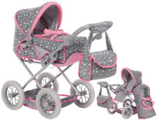 Knorrtoys Puppenwagen Ruby (Star Grey)