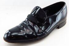 Florsheim Designer Formal Loafers & Slip Ons Black Patent Leather Men Sz  Wide
