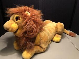 "Plush Vtg Simba Puppet Disney Store Lion King Adult Full Body Doll 24"" Large"