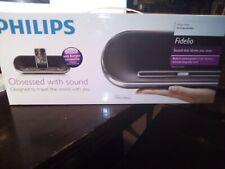 NEW PHILLPS DS7550 FIDELIO DOCKING SPEAKER IPOD/IPHONE/IPAD BLUETOOTH