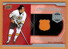 2014-15 , UPPER DECK , SERIES 2 , PHIL ESPOSITO , 1000 POINT CLUB , JERSEY