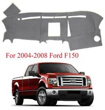 Dashmat Dashboard Cover Carpet Fits For 2004-2008 Ford F150 TRUCK Anti-Slip Gray
