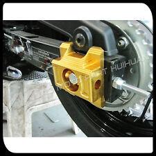MAD MOTO Honda MSX125 Grom CNC Rear Axle Spindle Chain Adjuster Blocks  BLACK