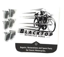 Set of 6 Screws for Triumph Trap Door 1958-83 2BA #70-3821 EXPRESS POST