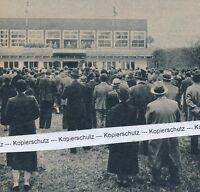 Linz - Eröffnung des Jungvolkheimes - selten - um 1935      I 22-20