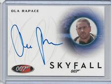 Ola Rapace JAMES BOND 007 2014 Archives Autograph Card Auto A238