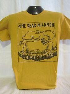 Dead Milkmen T-Shirt Tee Punk Rock Music Band Big Lizard Philadelphia PA New 11
