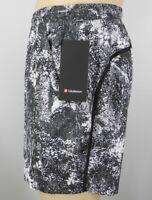 "NEW LULULEMON Pace Breaker Short 7"" Linerless S XL Wildwood Multi Black Shorts"