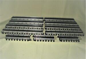 11 PCS 'O' K-Line Super-Snap Straight Track