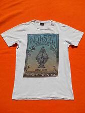 VOLCOM Stone T shirt Infinite Potential Skate Surf Punk Pipe Pro Riding Jam M