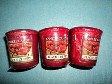 Yankee Candles samplers-Hard to Find Fragrances-Black Cherry x3