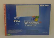 SEALED Microsoft Windows XP Pro Reinstallation CD w/SP2 Version 2002 for Dell PC