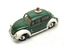 Vintage Corgi Toys Volkswagen 1200 Saloon European Polizei Die Cast Car #492 UK
