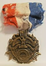 WWI COMMEMORATIVE US ARMY FORCES SERVICE MEDAL LEWIS COUNTY NEW YORK WORLD WAR 1