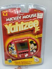 VTG Hasbro Walt Disney Mickey Mouse Yahtzee Jr Electronic Handheld Travel Game