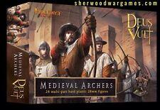 28mm Medieval Archers, Deus Vult, Fireforge Games
