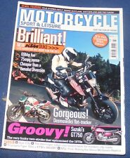 MOTORCYCLE SPORT & LEISURE MARCH 2012 NO:618 - KTM DUKE
