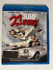 21 Jump Street (1-Disc Blu-ray, 2012) No DC Jonah Hill, Channing Tatum, ICE Cube