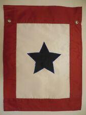 "New listing Blue Service Star, Military, applique Garden Flag 12.5""x18"""