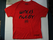 Wales Rugby Kooga Cotton Red T-Shirt, S, 42 Inch Chest.