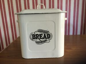 Vintage Tala Cream Bread Bin.