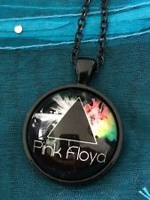 Pink Floyd Music Band. Glass Cabochon Dome Pendant Necklace. NEW