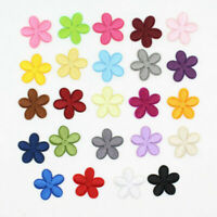 Flower Embroidered Patches Trim Applique DIY Sewing Iron-On Patch Clothing Acces