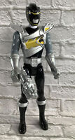 "Power Rangers Dino Charge Black Ranger 12"" Action Figure 2014 Bandai SCG"