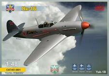 ModelSvit Model kit 4801 1:48th scale Yak-1B Soviet fighter