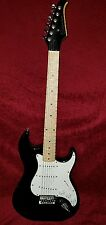 Silvertone Electric Guitar Right Handed Black