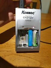 Konnoc Standard Battery Charger For Rechargable AAA AA 9V