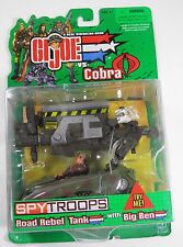 G.I. JOE GI JOE VS. COBRA ROAD REBEL TANK WITH BIG BEN HASBRO (2002) SEALED!