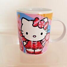 Hello Kitty Collectable Ceramic Coffee Mug Cup Kitten Cat Stars AA5