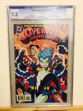 Superman Adventures #5 CGC 9.8 White Pages 1st Appearance Livewire