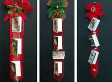 Handmade Miniature 1/12th Scale Dolls House Hanging Christmas Card Holder