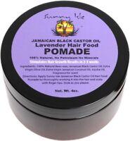 Sunny Isle Jamaican Black Castor Oil Hair Food Pomade, Lavender 4 oz