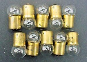 Box 10 Incandescent Chevy GM #67 12V Interior Courtesy Trunk Light Bulb Lamp NOS