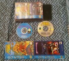 Ultraverse Prime & Microcosm Double Deal Complete Sega CD Personal Collection!!!